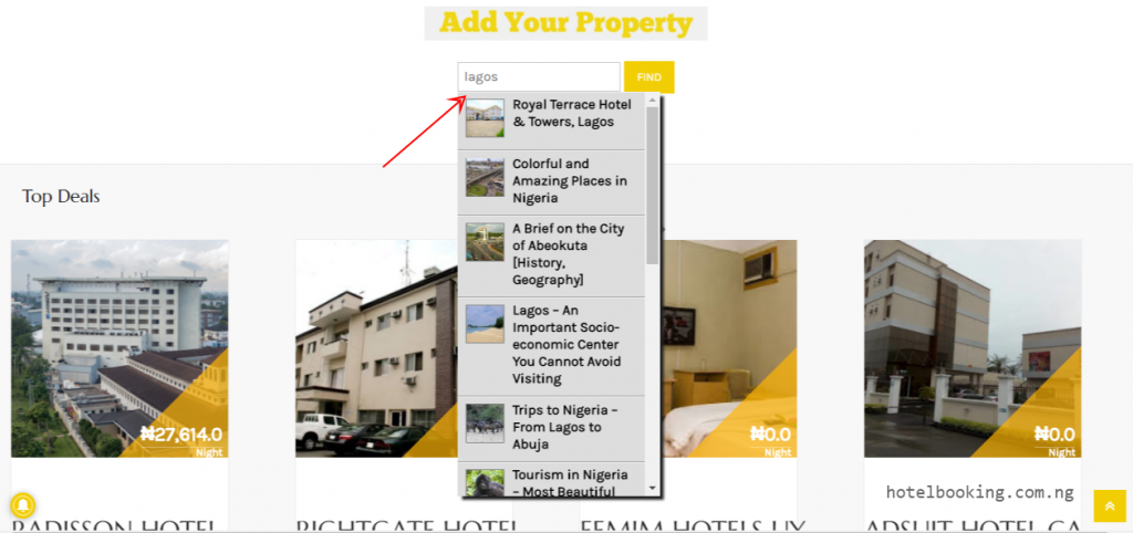 Hotel Booking Find Exclusive Hotels and Suites - Hotel Booking Nigeria